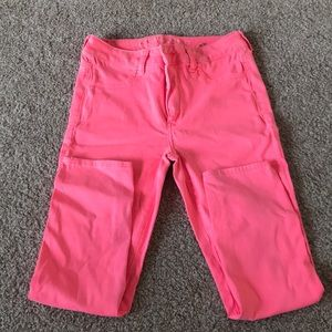 Pink Jeggings